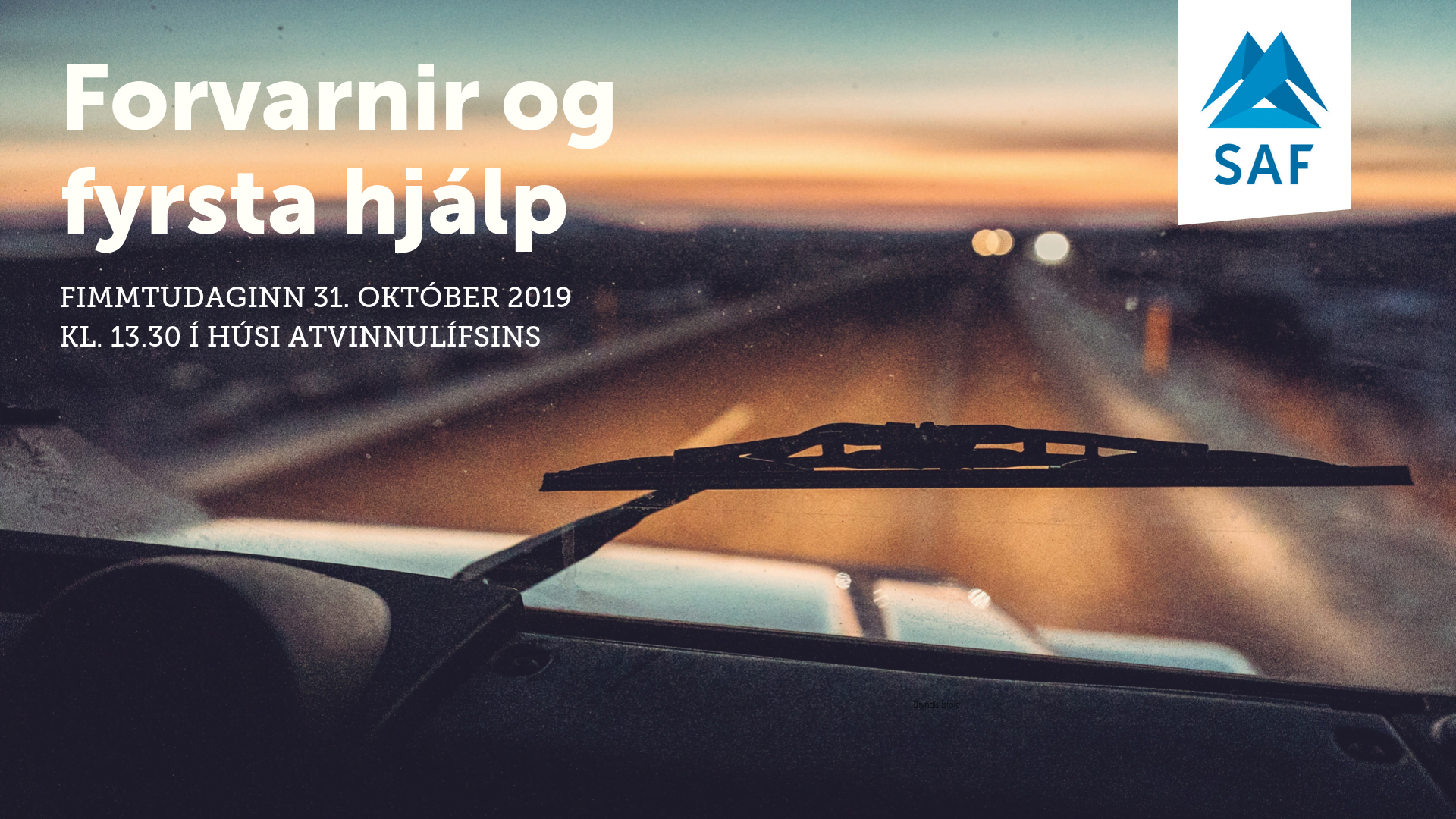 Forvarnir og fyrsta hjálp - fundur 31.10.19 (2)